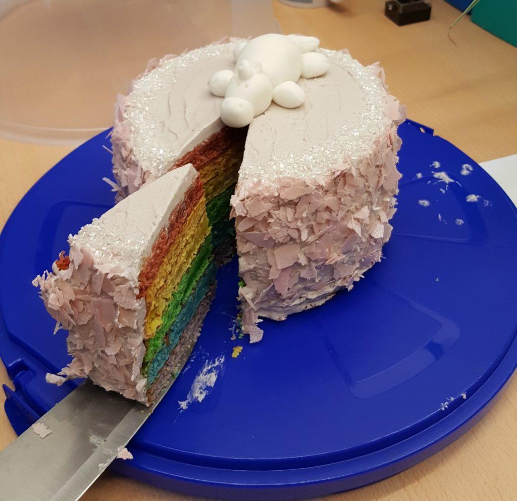Vanessa's unicorn cake