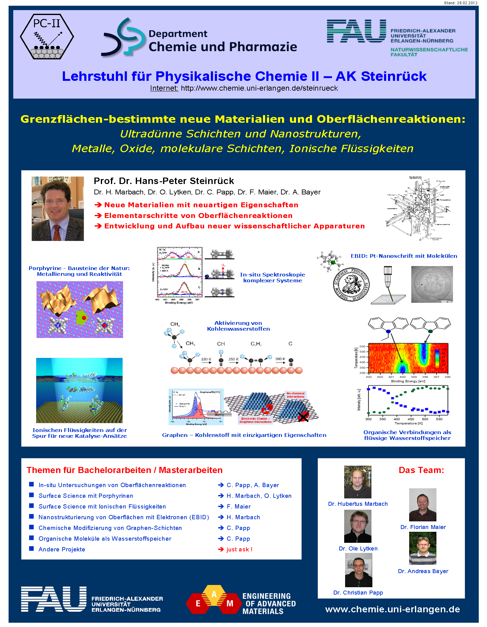 Lab Courses › Department of Chemistry and Pharmacy