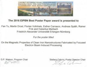 Best Poster Paper (Image: Marbach)
