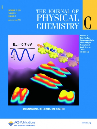 Cover Journal of Physical Chemistry