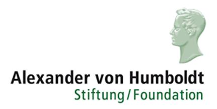 Logo Humboldt Stiftung