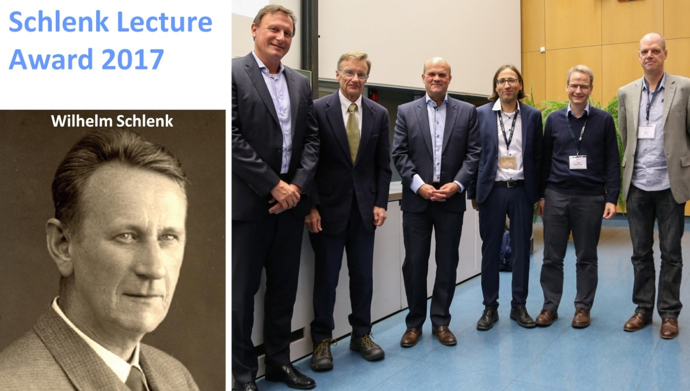 "Towards entry ""Schlenk Lecture Award to Professor Sjoerd Harder"""