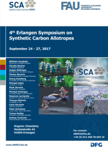List of speakers, Contact, and dates of the 4th synthetic carbon allotropes symposium, no additional information that is not found on the webpage