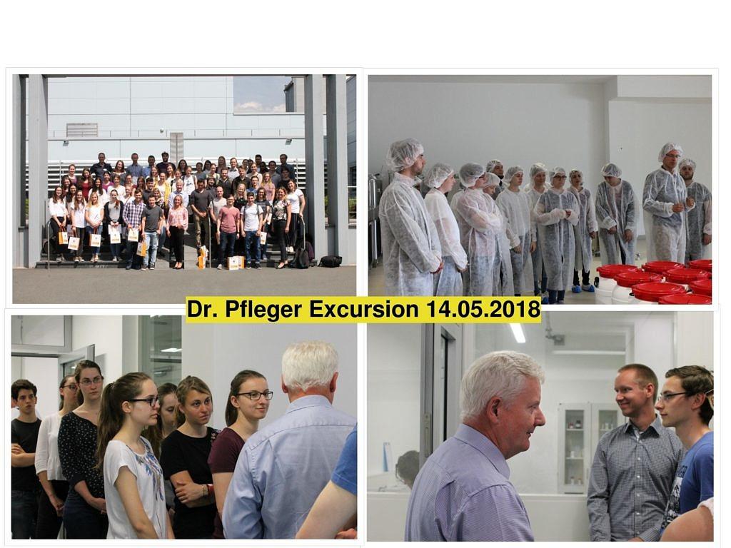 Collage Dr Pfleger
