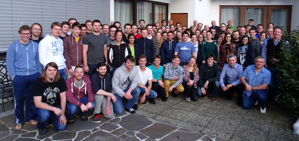 Members GSMS Winter School (Photo: N. Jux/FAU)