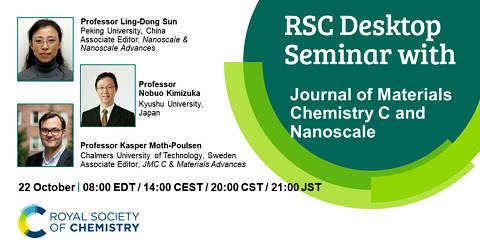 "Towards entry ""RSC Desktop Seminar on ""Progress in singlet fission and photon upconversion"""""