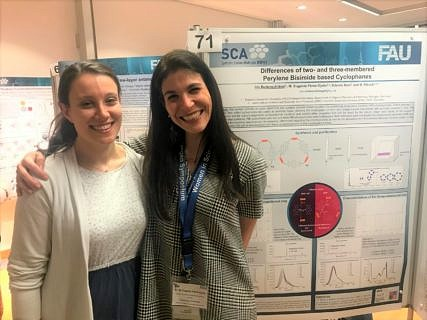 "Iris Solymosi and Dr. Eugenia Pérez-Ojeda ""Women in Science – 1st Erlangen Symposium"" 9-11th December 2018"